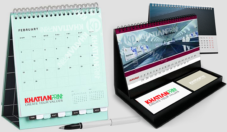 table calendars general regular small medium large desk desktop calendar | khatian print